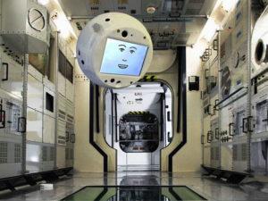 Cimon, der Assistent der Astronauten auf der IS mit Künstlicher Intelligenz.