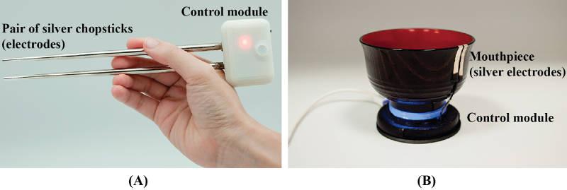 So funktionieren die elektrischen Essstäbchen und die elektrische Suppenschale.