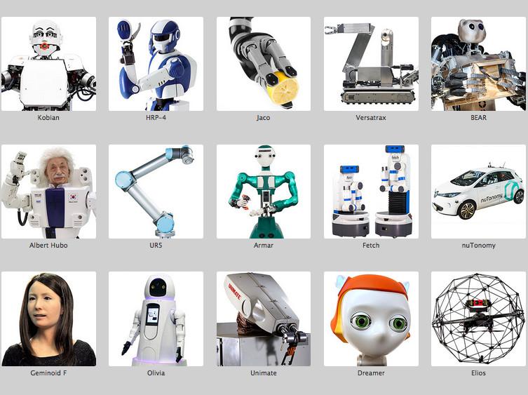 IEEE Spectrum will den größten Roboterkatalog der Welt aufstellen. Welt