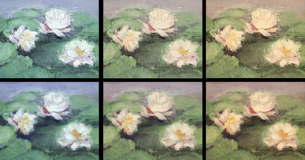 Durch eine Kombination von Künstlicher Intelligenz und 3D-Drucker soll die perfekte Farbwiedergabe von Gemälden gelingen.