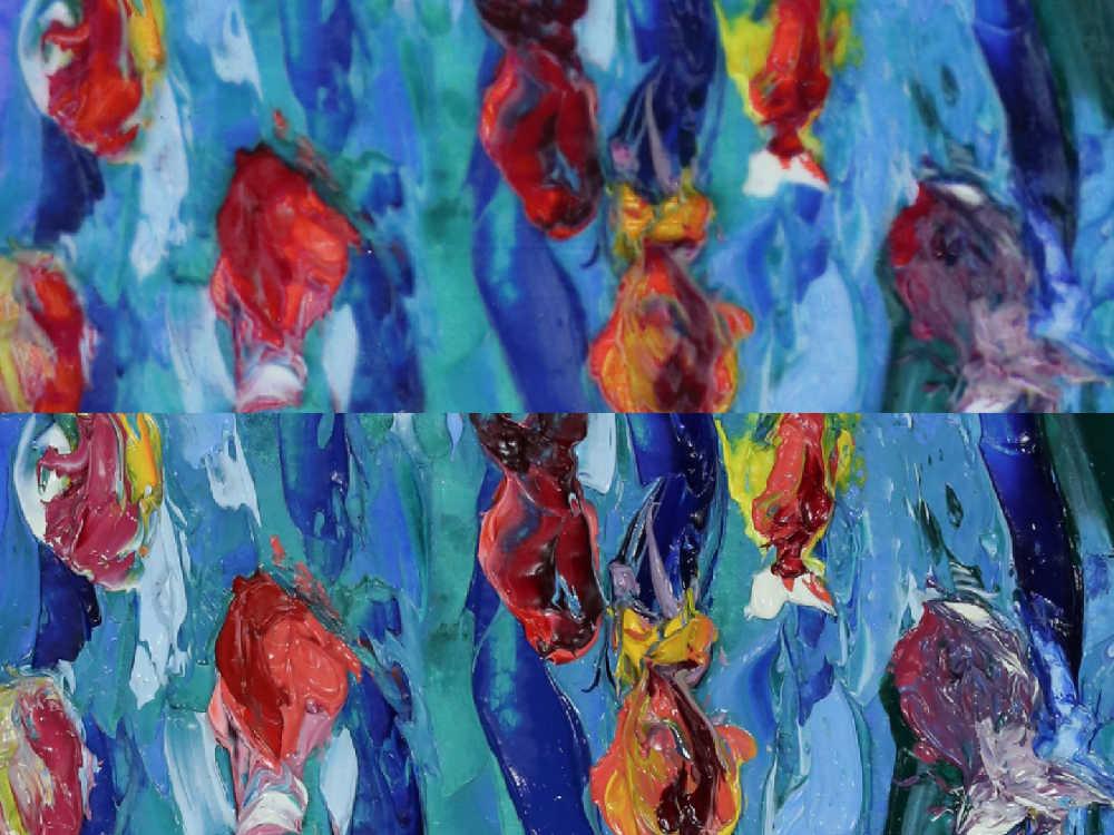 Gemälde aus dem 3D-Drucker für Museen, um Originale Kunstwerke zu schonen. Die Technik funktioniert mit Hilfe von Deep Learning.