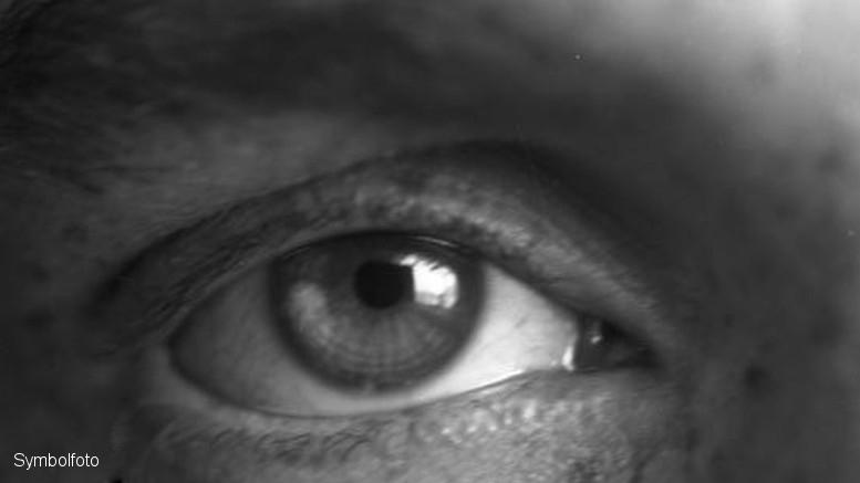 Auge in der Nahaufnahme
