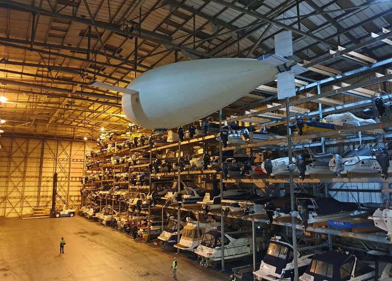 Das Phoenix-Luftschiff soll eventuell als Pseudosatellit eingesetzt werden.