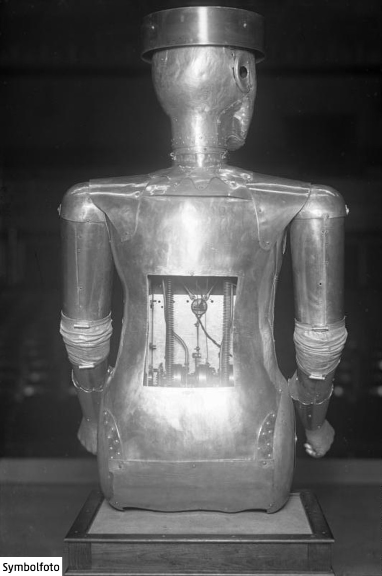 Der Maschinenmensch Robot aus dem Jahr 1932.