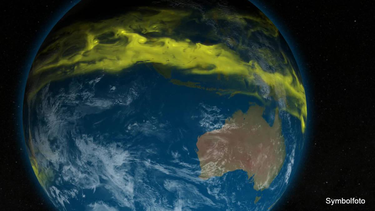 Diese ozonabbauende Chemikalien ziehen vom Äquator zu den Polen.