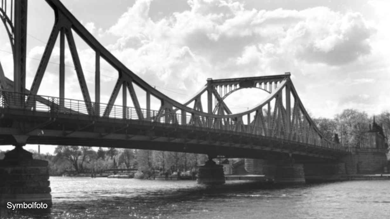 Foto der Glienicker Brücke