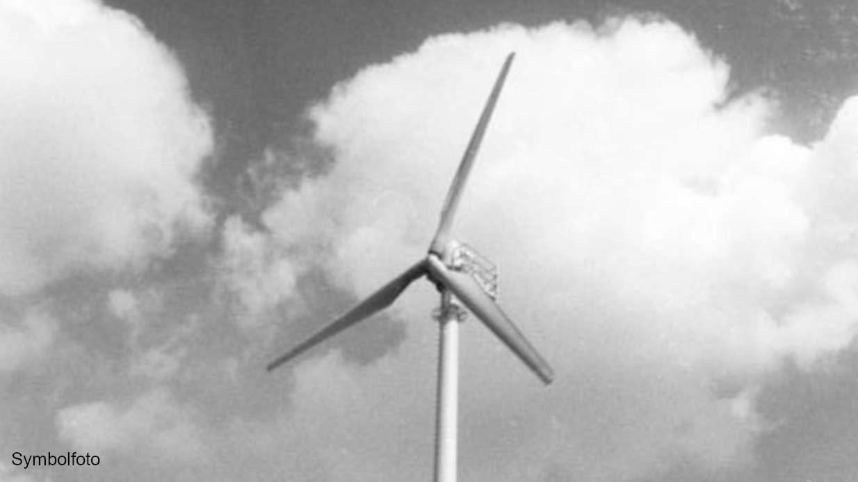Windrad einer Windkraftanlage