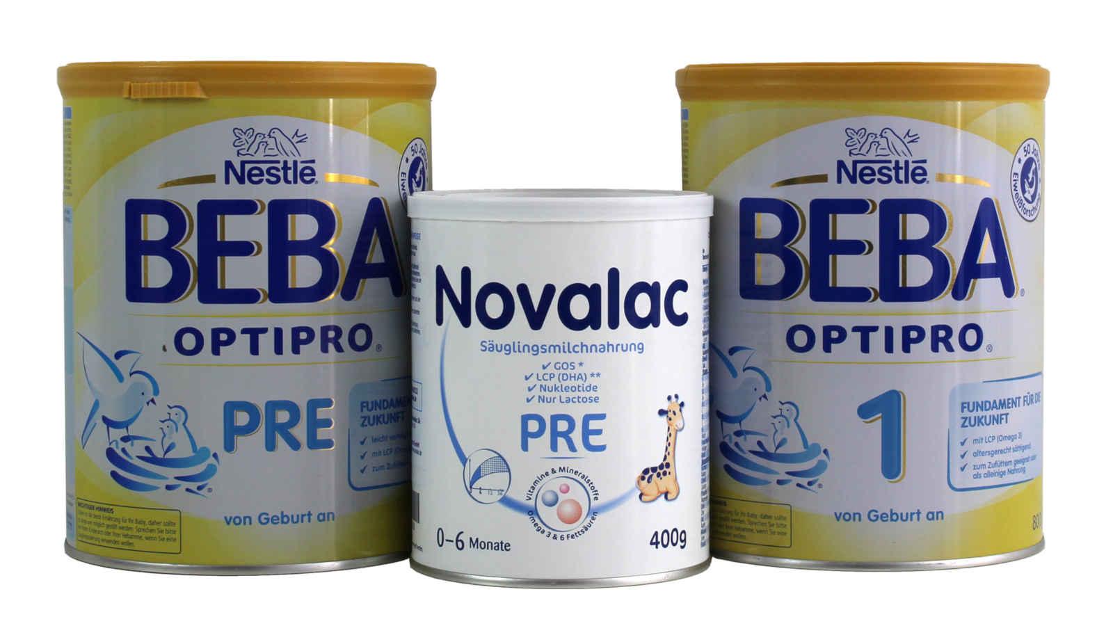 Bei bestimmten Chargen dieser Baby-Milchpulver besteht der Verdacht auf Mineralöl-Verunreinigung, nachdem Foodwatch von MOAH-Funden berichtet hat.